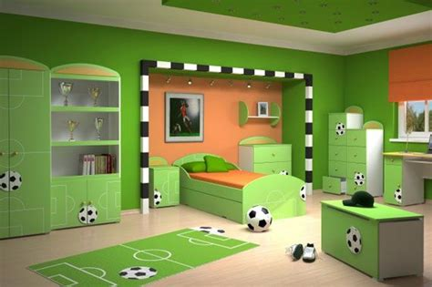 Green Themed Bedroom by Sporty Theme In Green Bedroom If Only There Wasn T