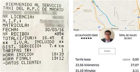cadena ser numero taxi vs uber comparativa cadena ser forocoches