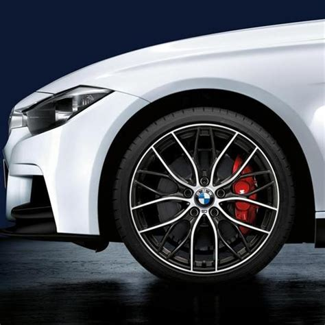 20 m light alloy double spoke wheels style 469m shopbmwusa com bmw m performance double spoke 405m 20