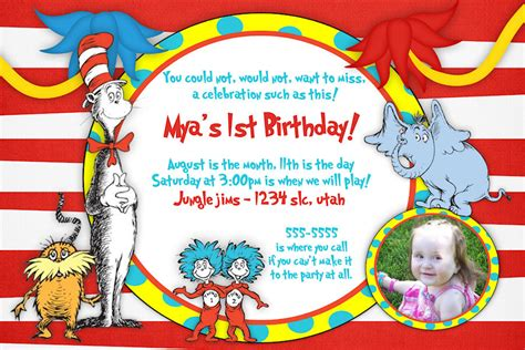 dr seuss flyer template free printable dr seuss birthday invitations drevio