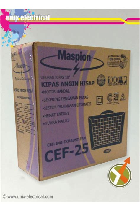 Maspion Cef 25 ceiling exhaust fan cef 25 maspion