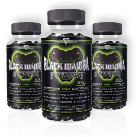 Burner Detox Alpha Capsule by Best Ephedra Diet Pills Black Spider Mamba Burner