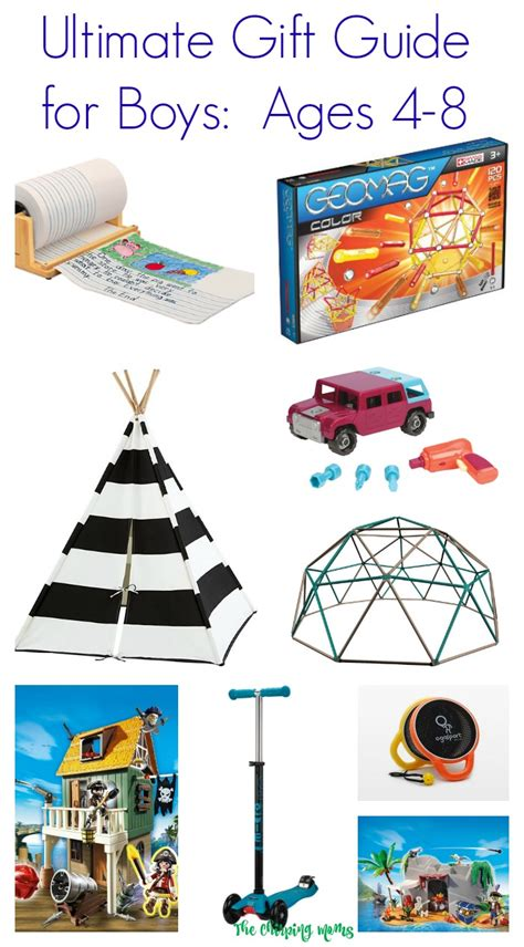 ultimate gift guide for boys ages 4 8 the chirping moms