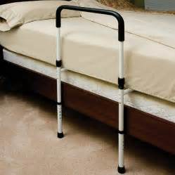 essential bed rail with floor support walgreens