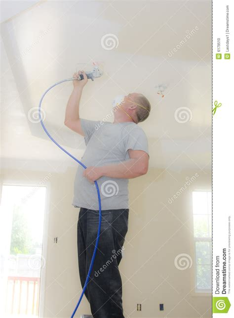 spray painter contract painter spray painting stock photo image 6179510