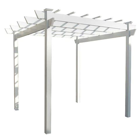 home depot steel pergola hton bay 9 ft x 9 ft steel and aluminum arched pergola with retractable canopy gfm00469a