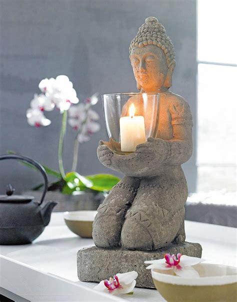 Badezimmer Deko Asia by Buddha Mit Windlicht Impressionen Bild 18 Sch 214 Ner