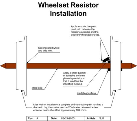 how to make an resistor apn resistorized wheelsets