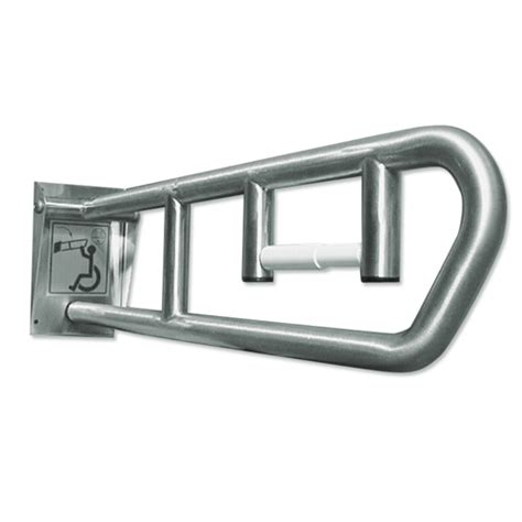 Swing Up Grab Bar by Bradley Swing Up Grab Bar Model 8370 103 W Dispenser