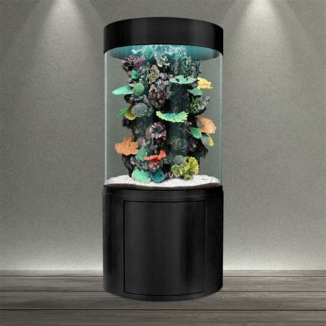 aquarium design en colonne aquarium colonne ronde
