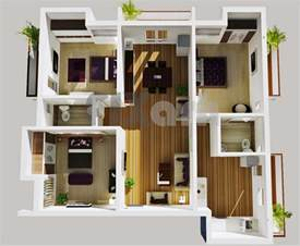 3 Bed 2 Bath Floor Plans 50 three 3 bedroom apartment house plans architecture