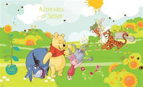 winnie the pooh wall murals disney winnie pooh eeyore piglet tigger wall paper mural