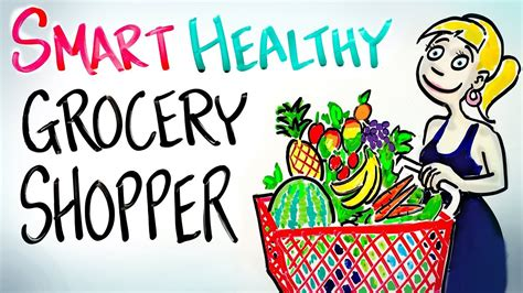 tips  smart healthy grocery shopping avoid  rat