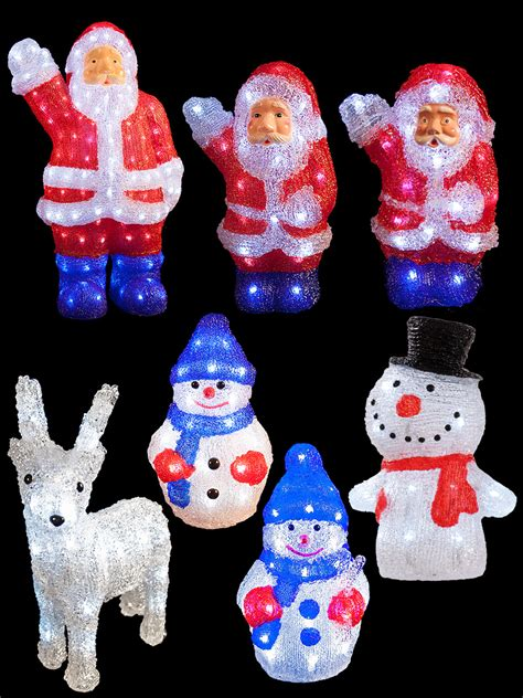 light up reindeer indoor light up acrylic santa snowman reindeer christmas outdoor