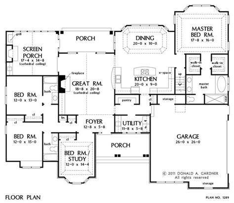 No Dining Room Floor Plans