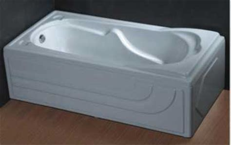 double apron bathtub china resin bathtubs for export