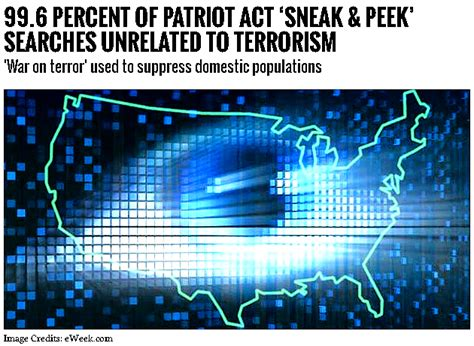 section 213 patriot act 99 6 percent of patriot act sneak peek