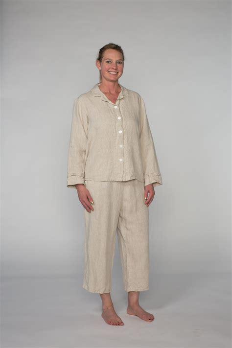 Pj Set linen pajama set linen pj set