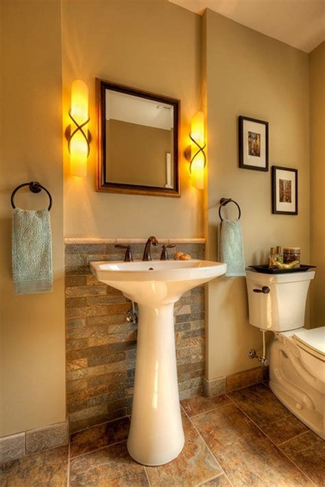 Pedestal Sink Bathroom Design Ideas Interior Pedestal Sinks For Small Bathrooms Grey Bathroom Furniture Rustic Bathroom Designs 45