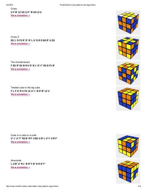 pattern algorithm in c best 25 rubiks cube algorithms ideas on pinterest