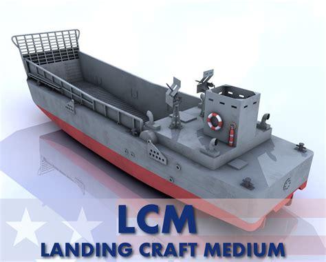 craft models for lcm 3 landing craft medium 3 3d models alicefromlake
