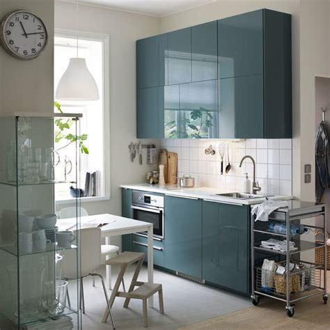 Cuisine Ikea Gris Brillant