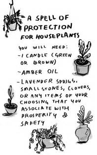 A Spell for Protection of House Plants • POMEgranate Magazine