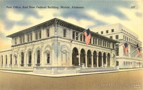 post office and new federal building mobile al