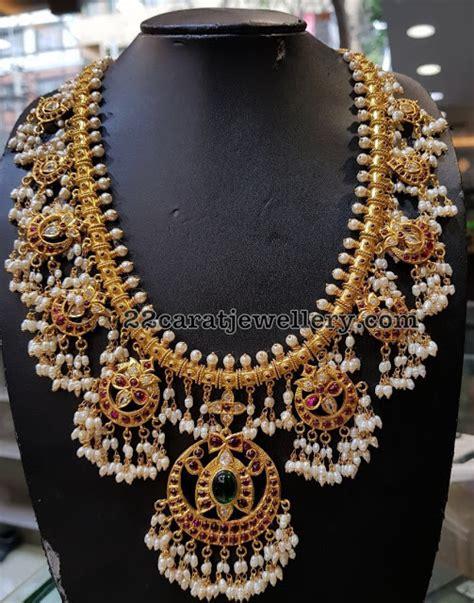 new pattern gold necklace new pattern silver guttapusalu with jhumkas jewellery