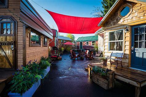 tiny house hotel near me april s tiny house mixer extravaganza at caravan the