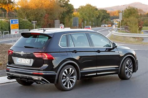 best volkswagen the best all rounder around vw tiguan r spotted car