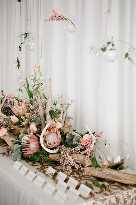 Single Flower Vase Centerpiece 40 Trend Protea Wedding Ideas For 2016 Deer Pearl Flowers