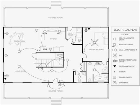 Small Efficient House Plans Electrical Plan Example Electrical Floor Plan Drawing