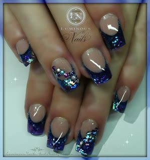 Eloise Gold Miracle Liquid Gell 5 luminous nails may 2013
