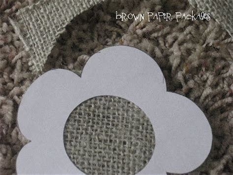 burlap flower template burlap flowers simply kierste design co
