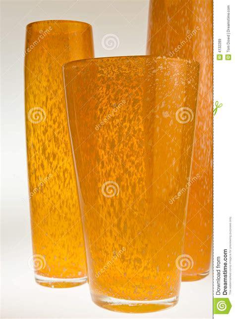 Orange White Toms No Box Sisa Size 3637 three orange vases royalty free stock images image 4132289
