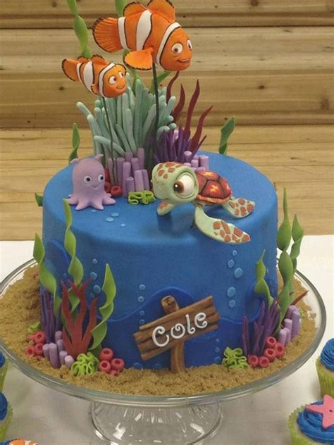 nemo kuchen some awesome finding nemo cakes ideas finding nemo
