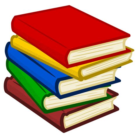 books clipart clipart books coloured