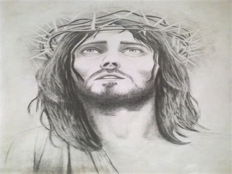 imagenes a lapiz del rostro de jesus retratos realistas de jesucristo arte taringa