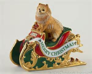 pomeranians christmas ornament and ornaments on pinterest
