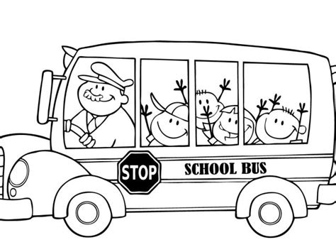 bus coloring pages for toddlers school bus coloring pages for kids printable
