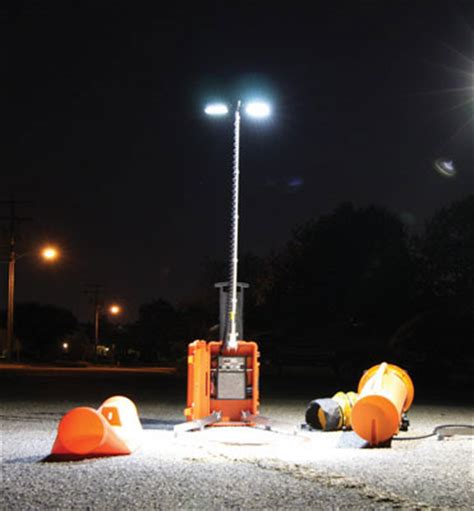 battery powered portable led work lights led light tower battery powered portable work light
