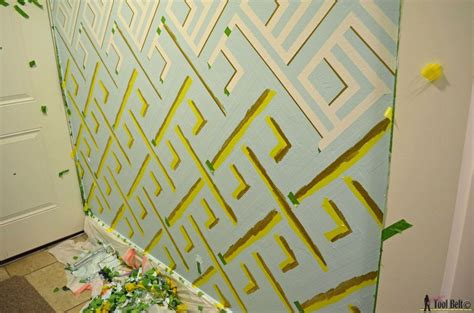 wall paint design ideas with tape hometalk diy modern wall design with painters tape