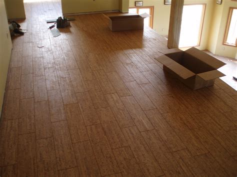 ceramic tile floor cork flooring ideas tile flooring
