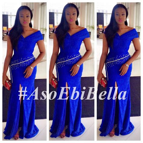 belle naija 2015 styles short aso ebi gowns hairstylegalleries com