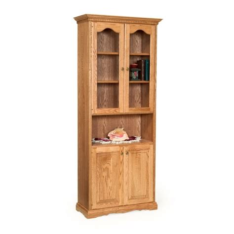 traditional storage traditional 78 quot storage cabinet amish traditional 78