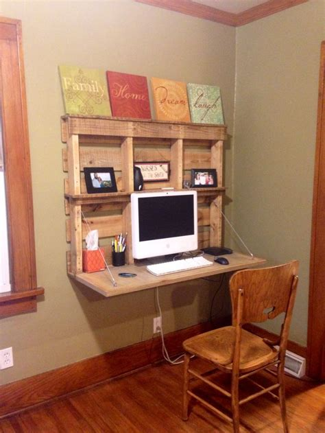 desk made from pallets 25 fantastic office furniture made out of pallets