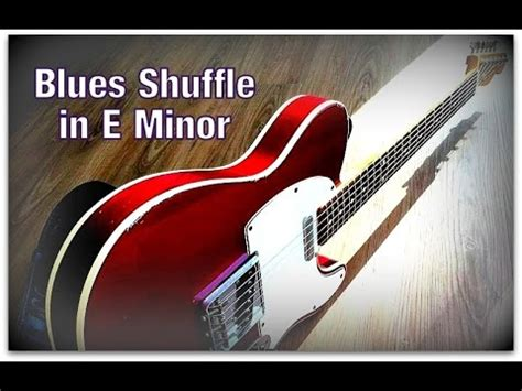 minor swing backing uplifting swing guitar backing track e minor