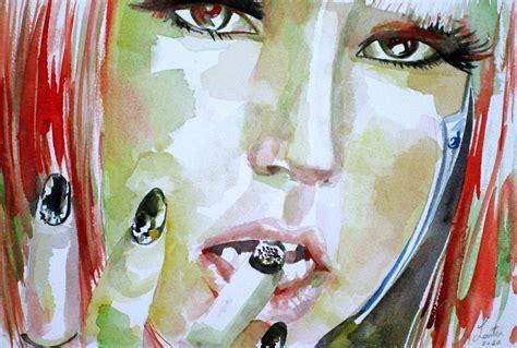 lady gaga shower curtain lady gaga watercolor portrait 1 painting by fabrizio