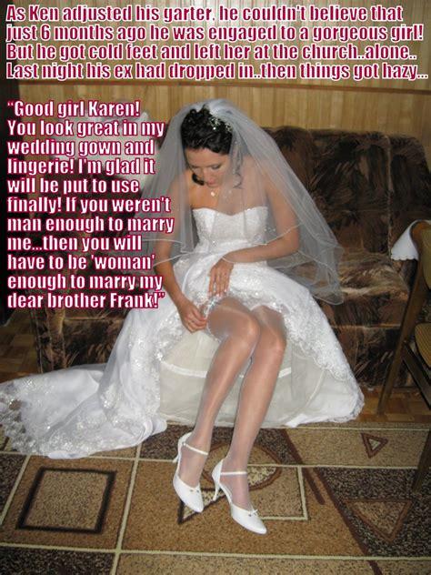 forced feminine punishment as bridesmaids man enough tg revenge factor pinterest captions tg